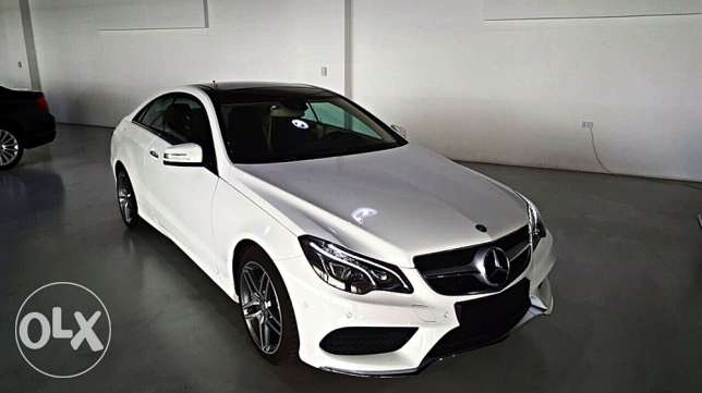 Brand New 0Km Mercedes E200 Coupe AMG 5 years warranty