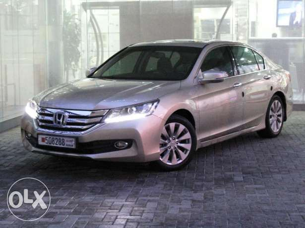 Honda Accord 4DR 2.4L EXi-A Cloth 2015 Beige For Sale