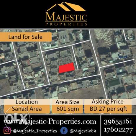 RB Land for Sale in Sanad Area