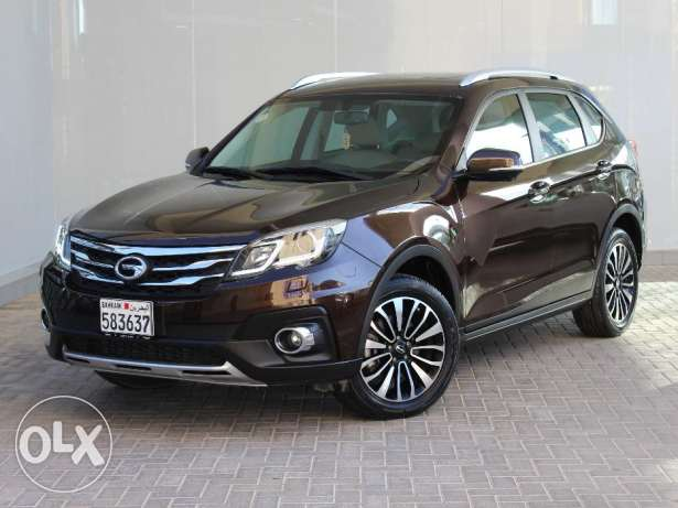 GAC GS5 2016 Brown للبيع