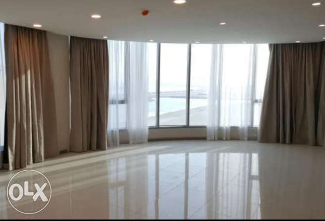 New Hidd/semi furnished 3 BHK flat amazing view with 2 balconies