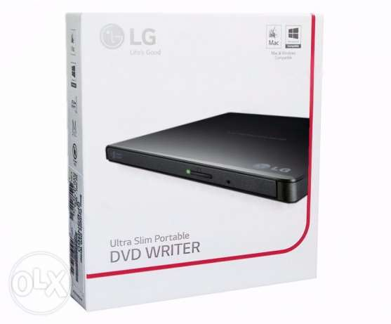 LG Slim Portable DVD Writer