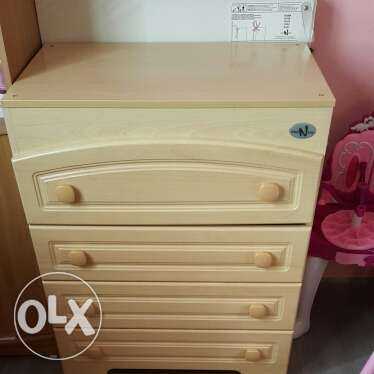 Chest of Drawers cum Baby Changing Table