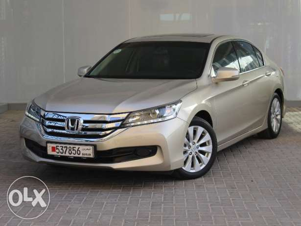 Honda Accord 2016 Beige For Sale