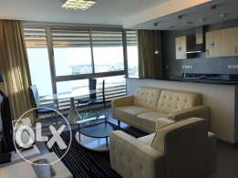 Duplex Sea view 2 BR flat in Amwaj, Balcony