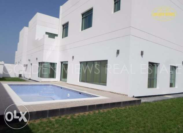New 4 Bedroom semi furnished villa with private pool,garden