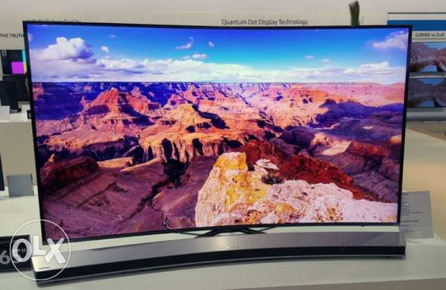 Curve Samsung 4K 65-INCH Screen