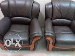 D 150 / Brand New 5 Seater leather Sofa