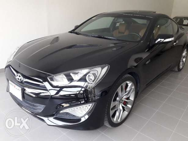 Hyundai GENESIS Coupe V6 3.8 GLS Sports Edition low Milage