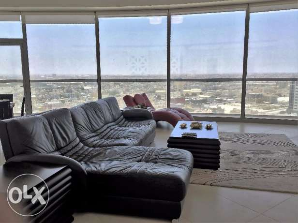 Beautiful luxury apartment in a high rise building.