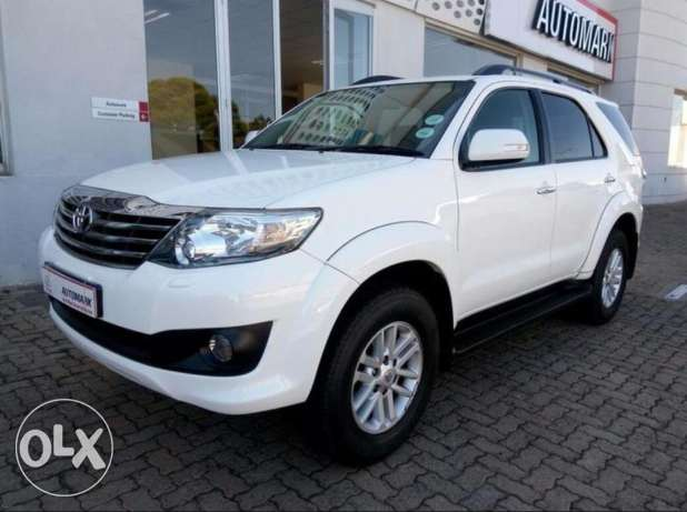 Toyota Fortuner V6 4X4 full option, Bahrain dealership