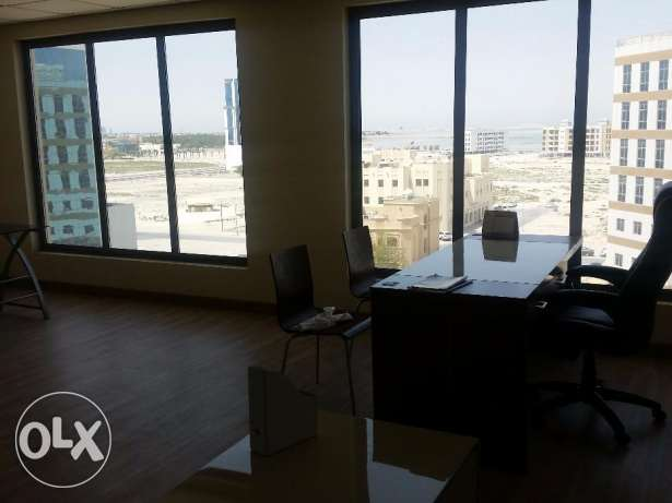 Office space for a small company available with nice sea-view