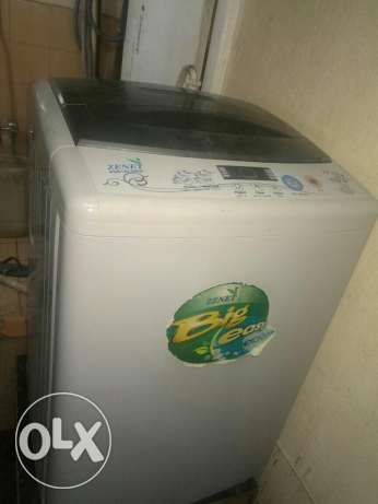Zenet fully automatic 12 kg washing machine