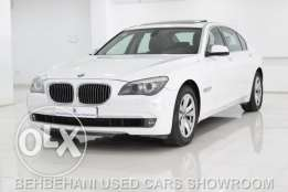 BMW 740Li for Sale in Behbehani used cars showroom Bahrain