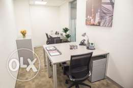 Office space for 3 people, available immediately, flexible terms.