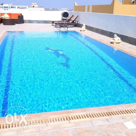 Large 3 Bedroom flat Semi furnished/ only Ac.s