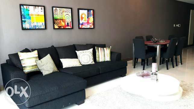 For rent -2 bedrooms apartment in Seef area