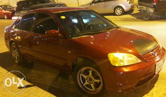 Honda Civic 2002 model for sale