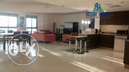 Modern style fully furnished 2 BHK flat for rent in Adliya at700/month