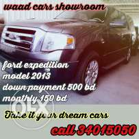 Ford Expedition 2013 model for installments you get it Cars