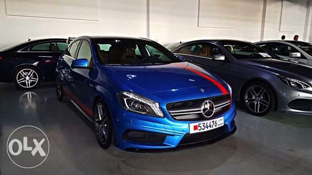 Mercedes A45 AMG 2014 ONLY 9600 km