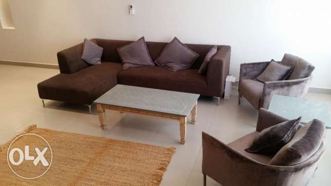 Modern two bedroom duplex apartment available for rent in a quiet area