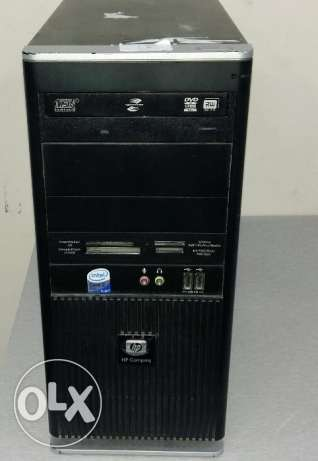 Hp branded pc core 2 DUO /DUAL CORE/HP keyboard, mouse/new dvd writer الرفاع -  1