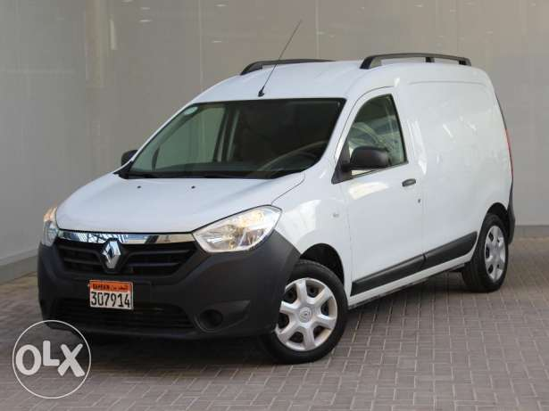 Renault Dokker White Color 2016