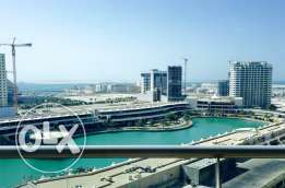 Luxury Two Bedrooms apartment in Amwaj-Isalnd. Lagoon-Sea view