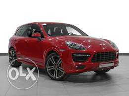 "Porsche Cayenne GTS (Red Exterior) 2014 ""Approved"""