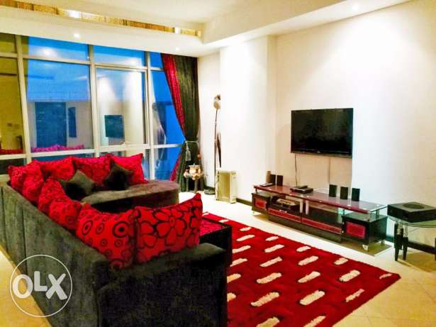 Spacious Modern Furnished 3 BR Apartment