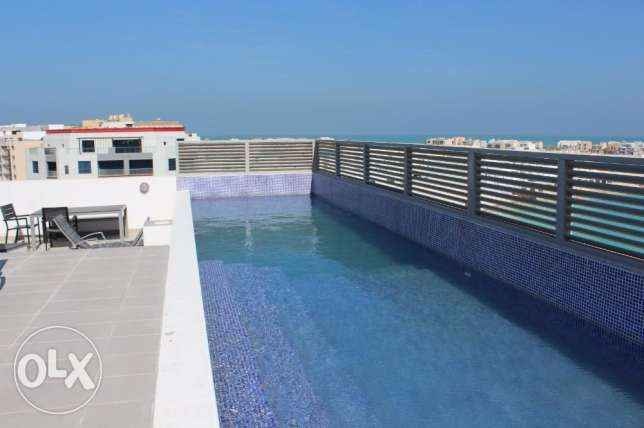 Amazing 3 Bedroom Apartment in Amwaj/bright,polished and luxury جزر امواج  -  8