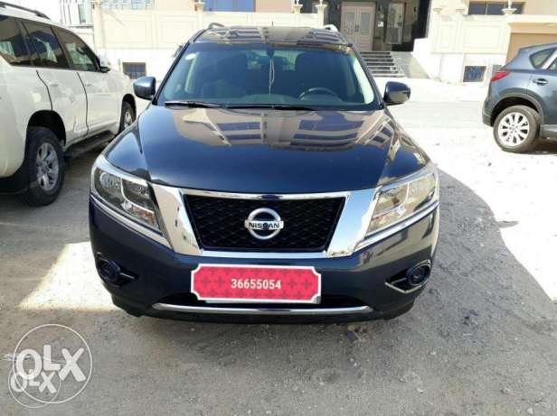 Nissan Pathfinder 3.5 - 2015 model - low mileage