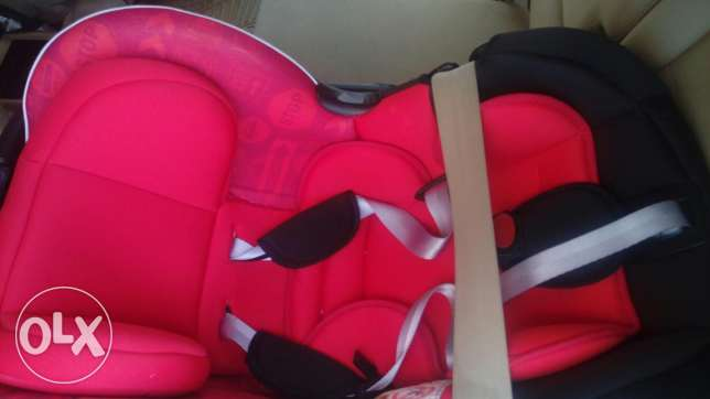 Baby and infant car seat, juniors, excellent condition. Expat leaving.