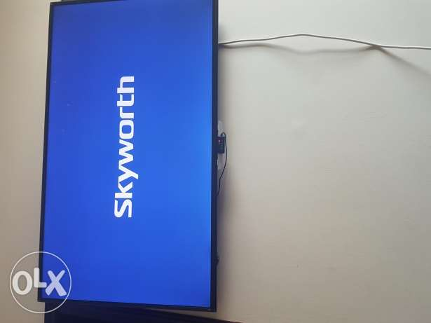 Skyworth smart tv for sel 50 aench like new 130