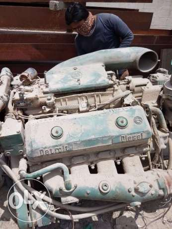 Various Inboard Diesel engines for boats