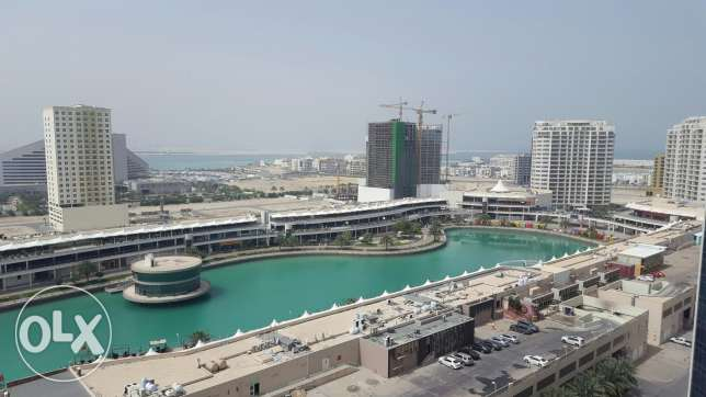 2br flat for rent in Amwaj Island sea view