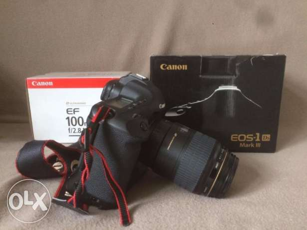 Canon 1D mark III and 100mm f2.8 macro lens