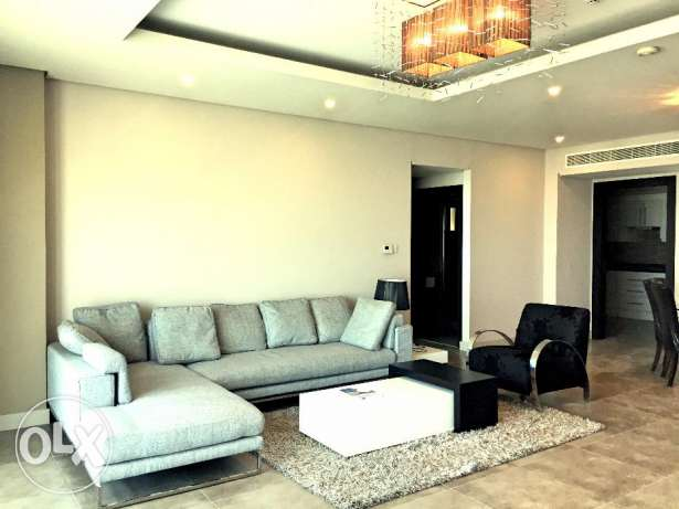 Fully furnished luxury apartment with a beautiful sea view