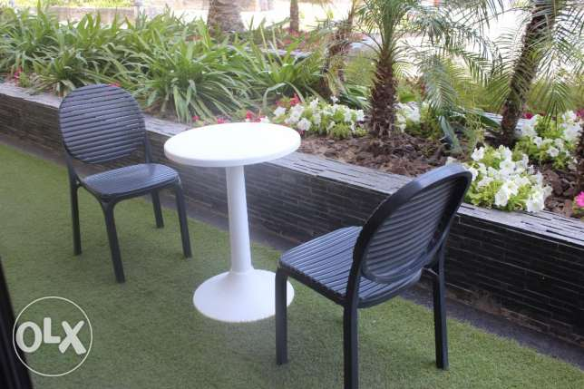 Sea view 1 BR in Seef with Private Garden