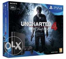 new ps4 slim 500gb( uncharted edition ) for sale