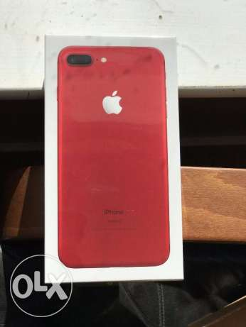 Apple iphone7 plus jet red