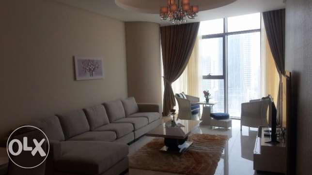 Brand new 1 BR in Seef, Sea view