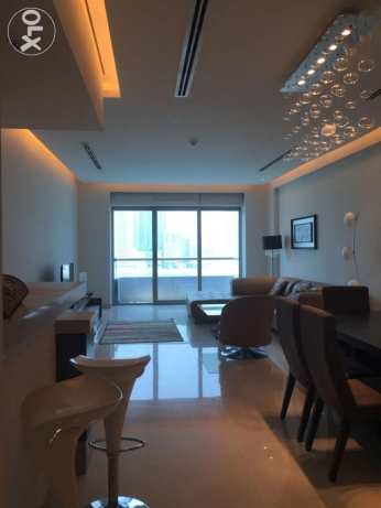 Luxury fully furnitured sea view apartment in Reef island