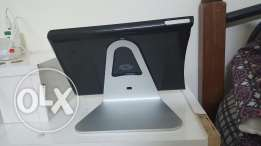 I pad air 2 . stainless stand with cover