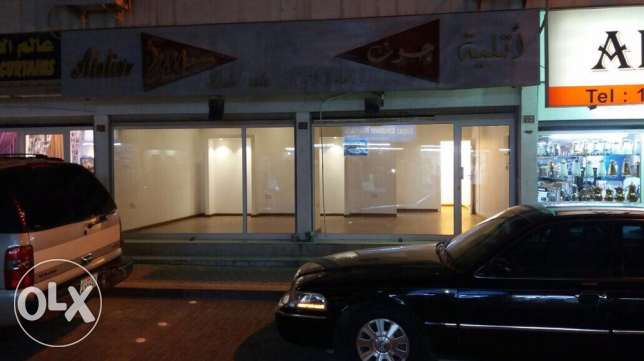 For sale in Qafaly, consisting of a shop in East Riffa near the market