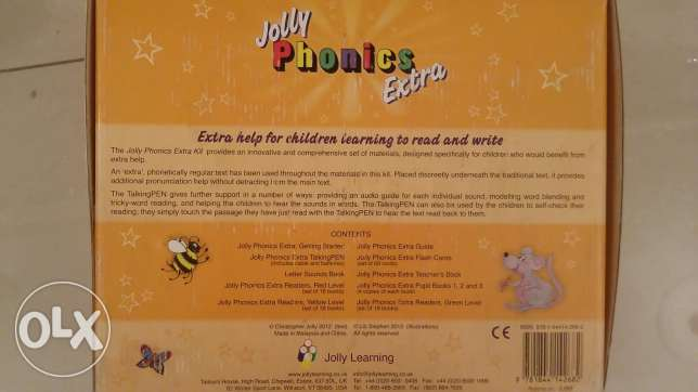 Jolly Phonics Extra