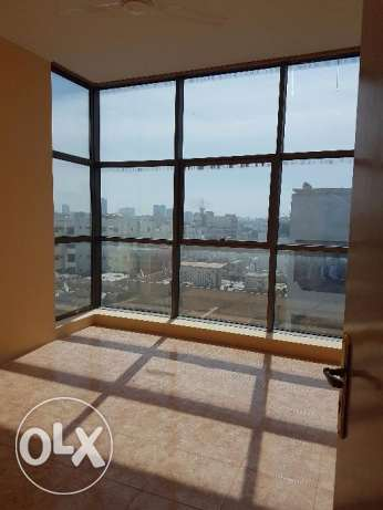Two bedroom Commercial flat for rent in gudaibiya