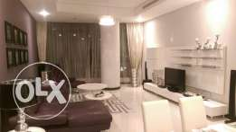 Fully furnished brand new 3-bedroom apartment.