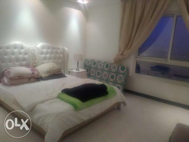 Fully furnished Flat for rent in a luxury tower in manama